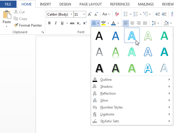 How can I make the font size for dots