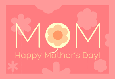 Happy mothers day card preview