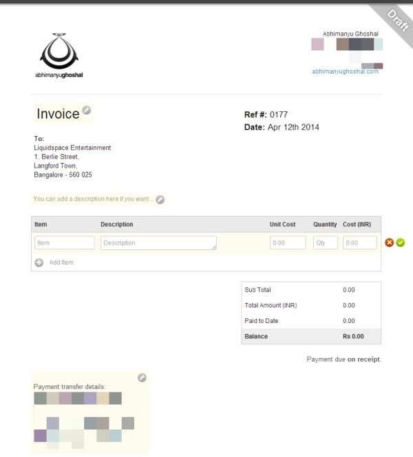 An Invoiceable Invoice  How To Create A Invoice In Word