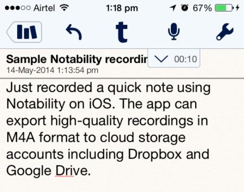 Notability for iOS
