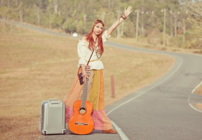 Photodune 6783234 hippie girl hitchhiking xs