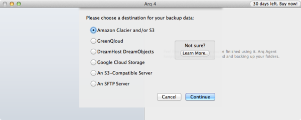 Validating s3 backup data