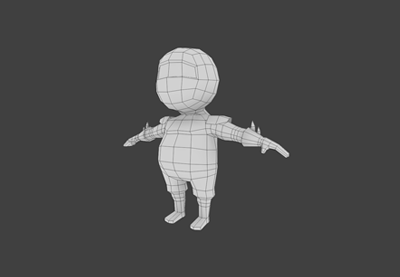 Preview for Creating A Low Poly Ninja Game Character Using Blender: Part 1
