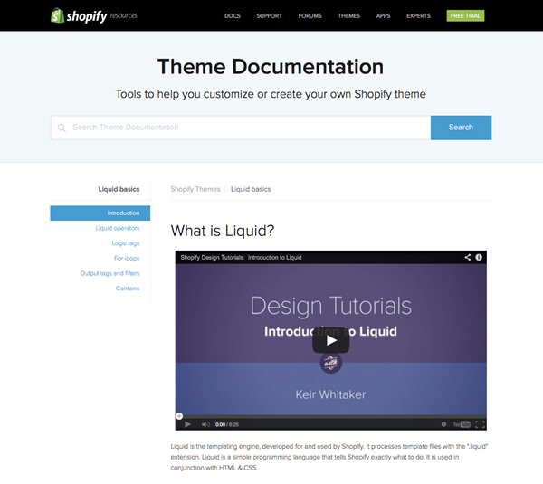 Getting started with liquid shopifys template language the shopify documentation site features code examples and screencasts pronofoot35fo Image collections