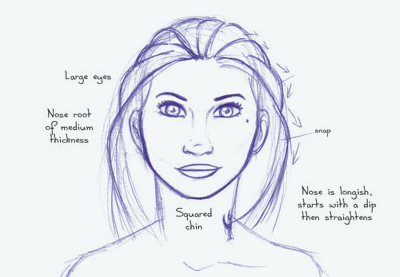 Human anatomy fundamentals: advanced facial features