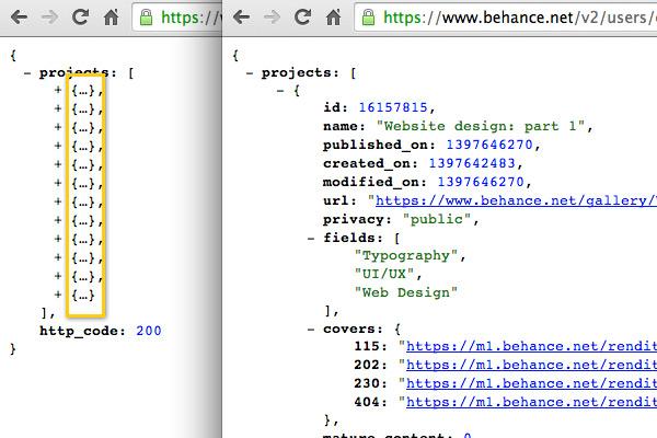 handlebars template tutorial - how to use the behance api to build a custom portfolio web