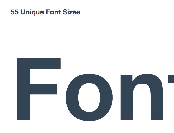 medium font size