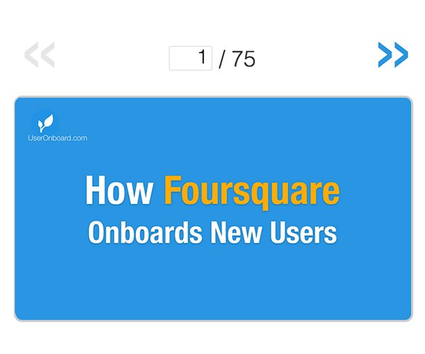 How Foursquare Onboards New Users