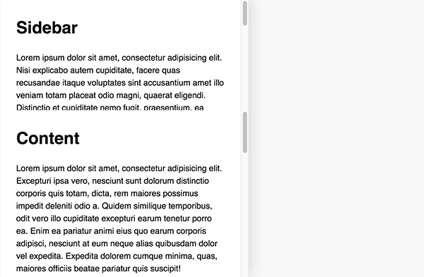 How to Make Responsive, Scrollable Panels with Flexbox