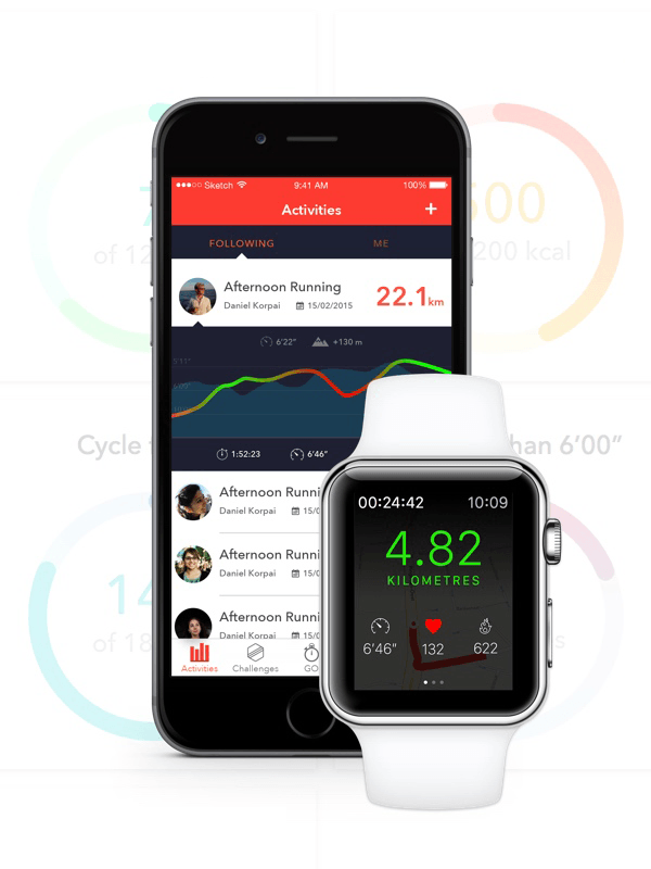 Designing an iOS Fitness Application with Apple Watch Compatibility