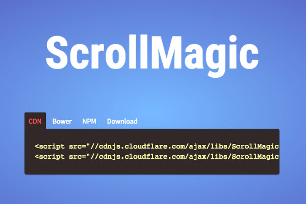 Introducing ScrollMagic 2 0