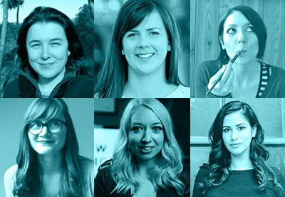Preview women of web design