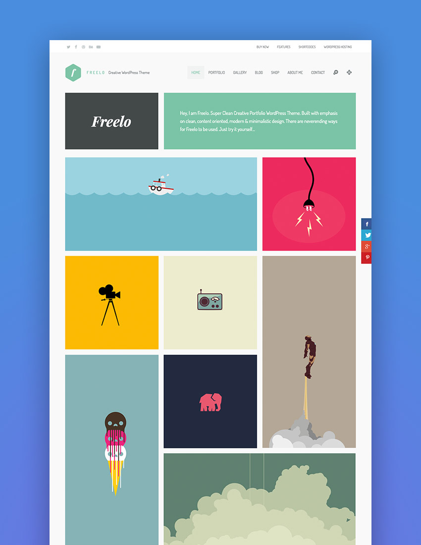 Freelo WP - Creative WordPress Portfolio Theme