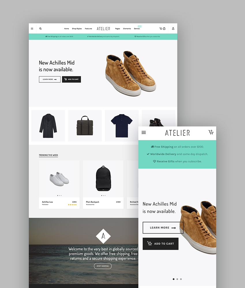Atelier - Creative Multi-Purpose WordPress Theme