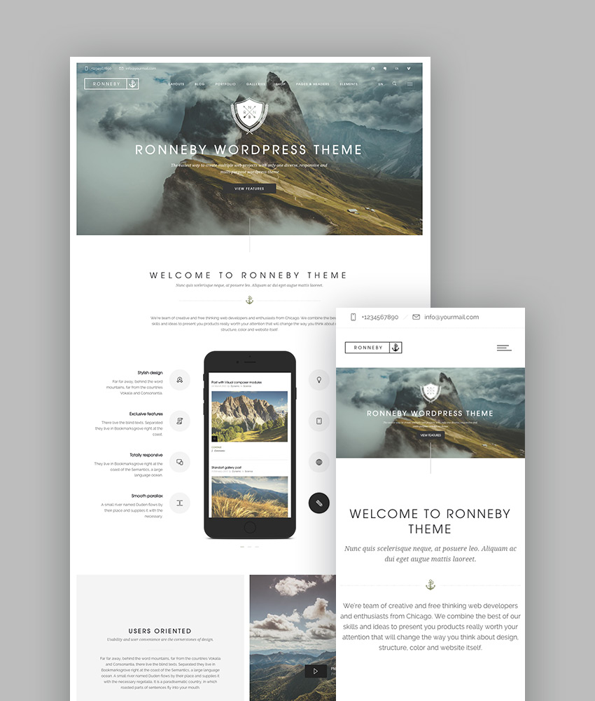 Ronneby WP Creative Folio Theme