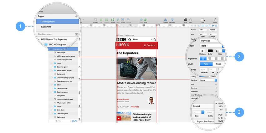 Sketch and Zeplin: Helping Designers and Developers Collaborate