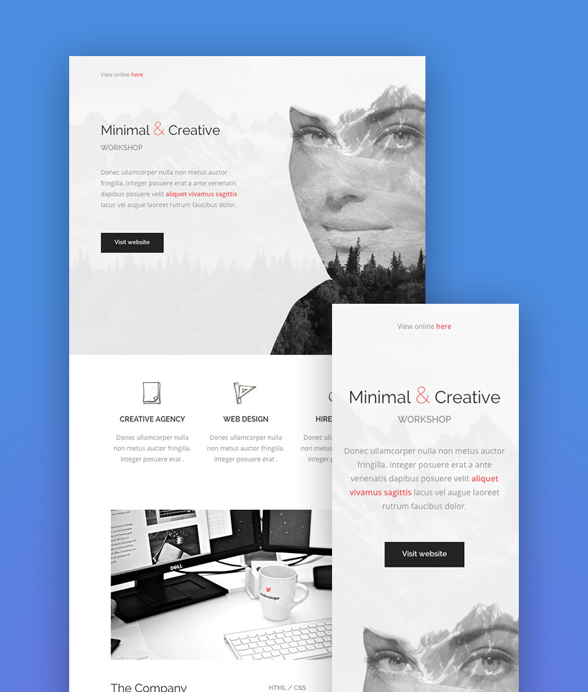 Best Mailchimp Templates | Best Mailchimp Templates To Level Up Your Business Email Newsletter 2018