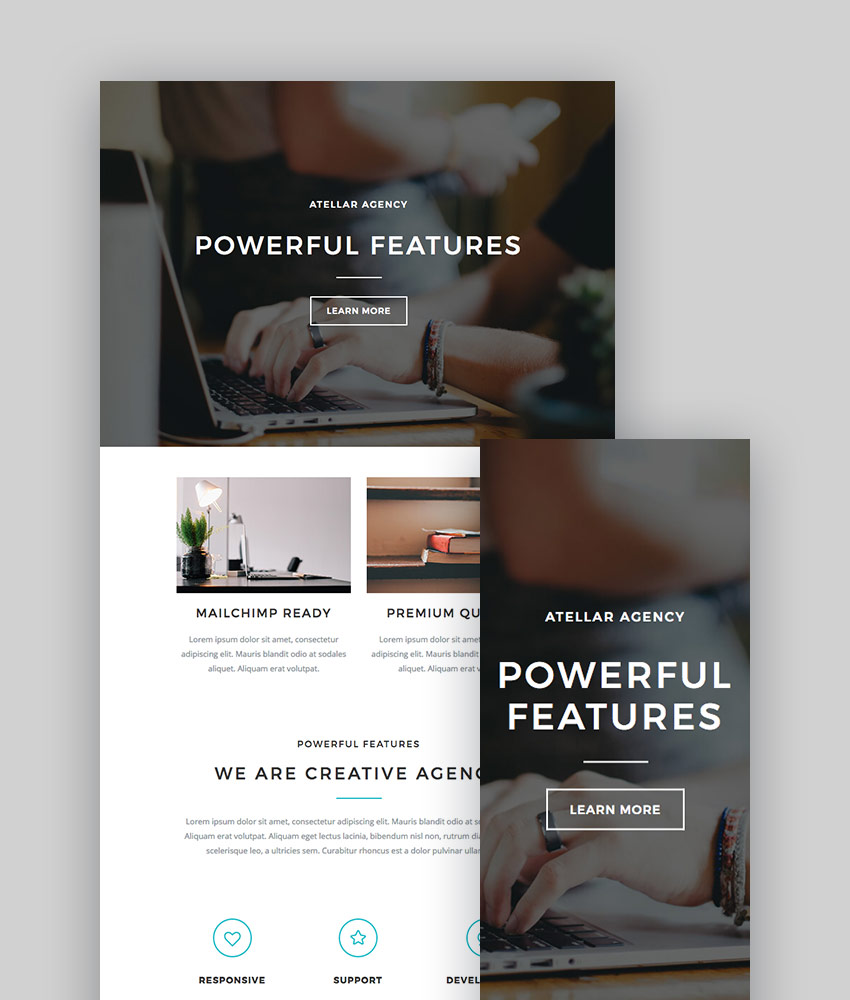 Best MailChimp Templates To Level Up Your Business Email Newsletter - Beautiful mailchimp templates