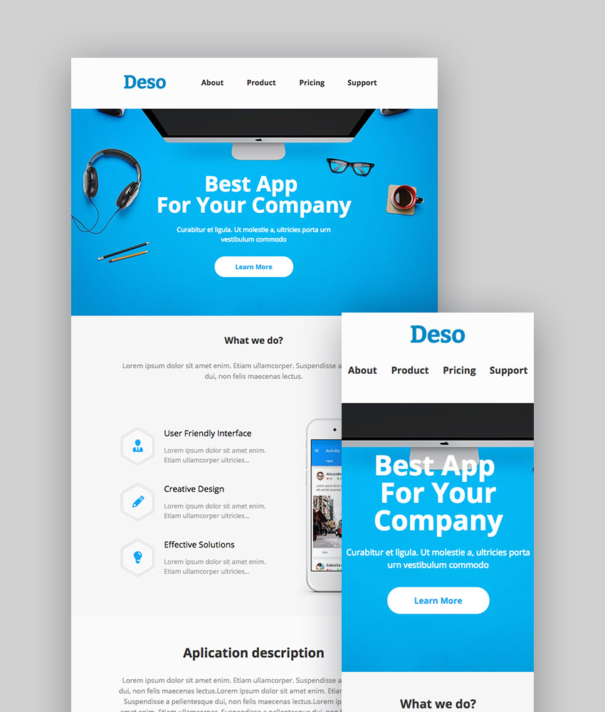 Deso - Email and Newsletter Template