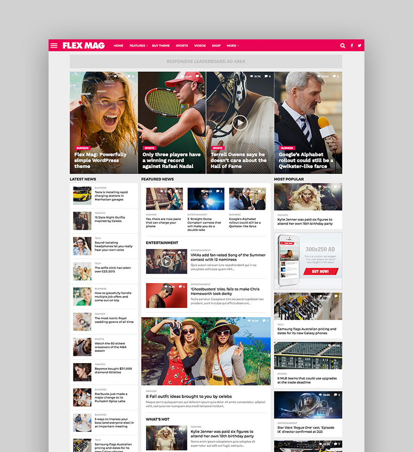 Wordpress Newspaper Templates | Los Mejores Temas De Wordpress Estilo Revista Para Sitios De Blogs