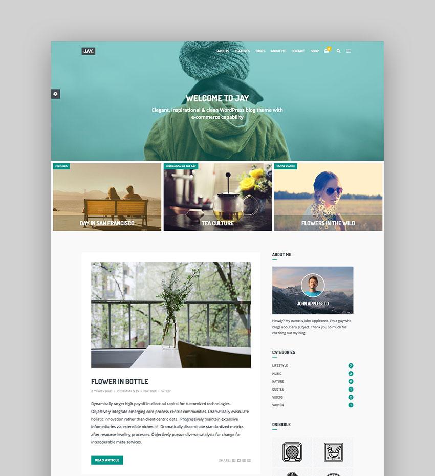 roundup-website-template-jay 23 Super WordPress Magazine Themes Definitely Worth Buying