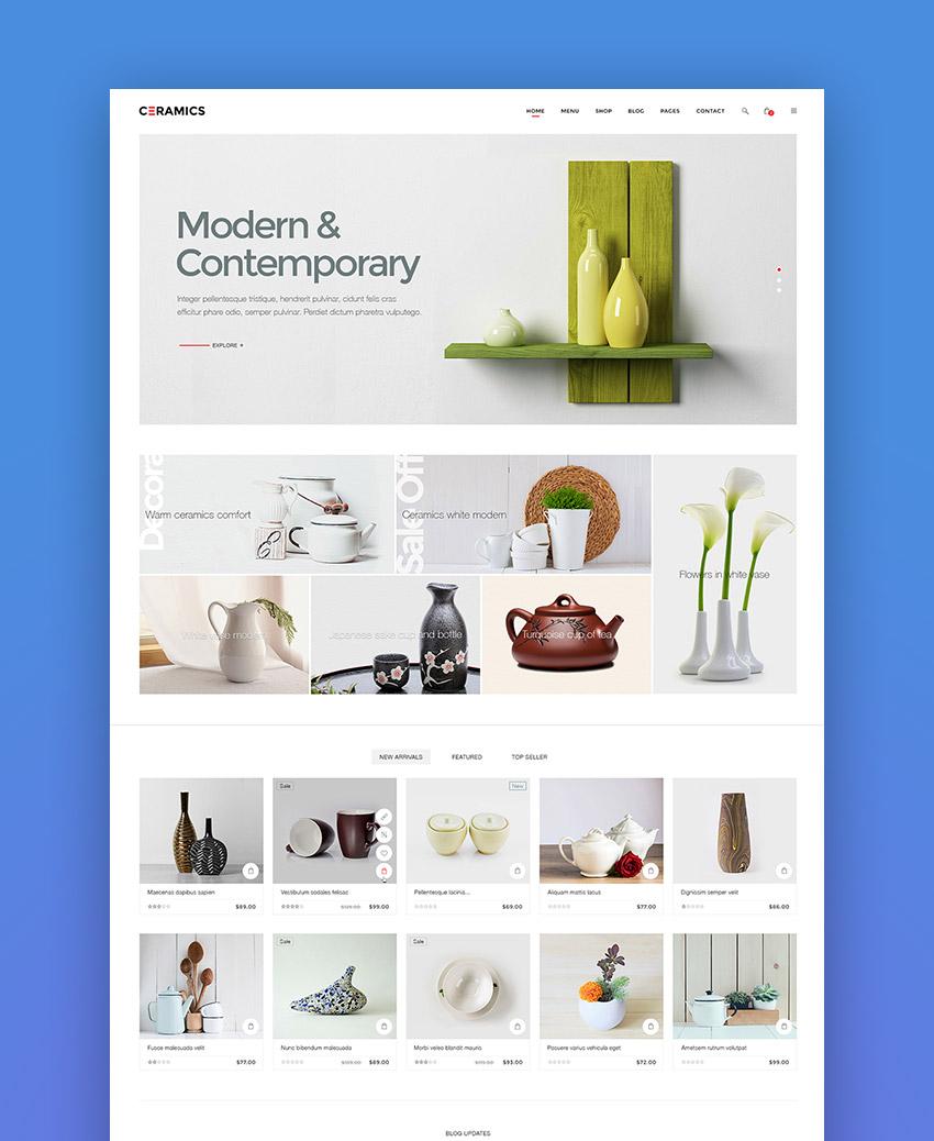 Jms Ceramics - Responsive Shopify Theme