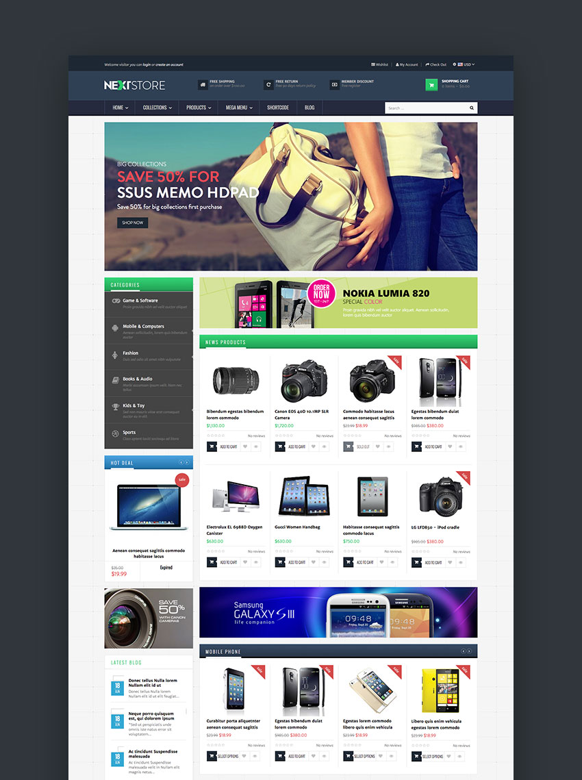 AP Next Store - Flexible Shopify Theme