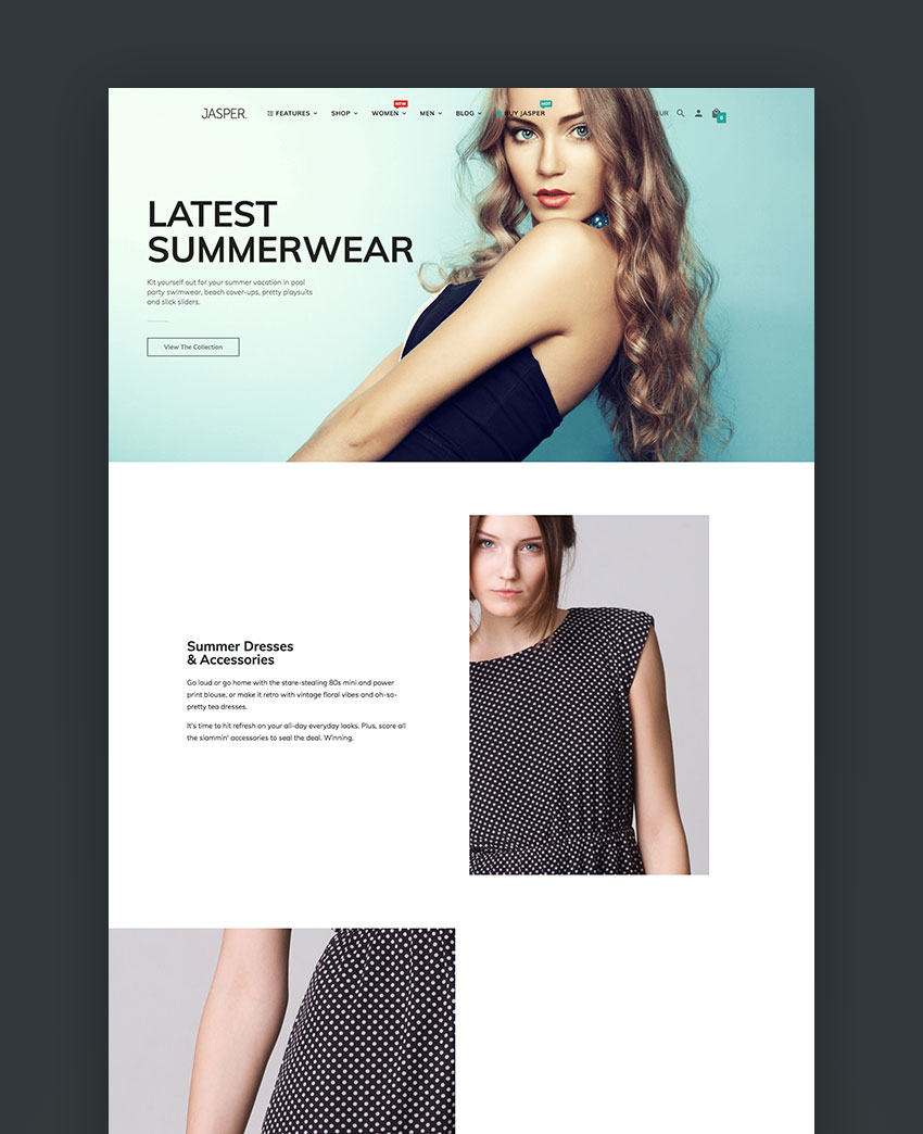 Jasper - Sectioned DragDrop Shopify Theme