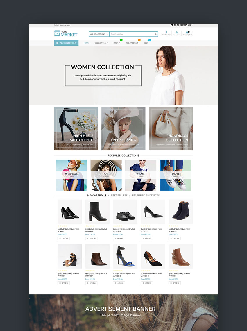 Best Shopify Themes With Beautiful ECommerce Designs - Shopify design templates