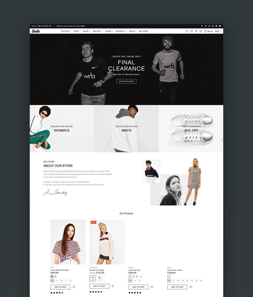 Shella - Ultimate Shopify theme