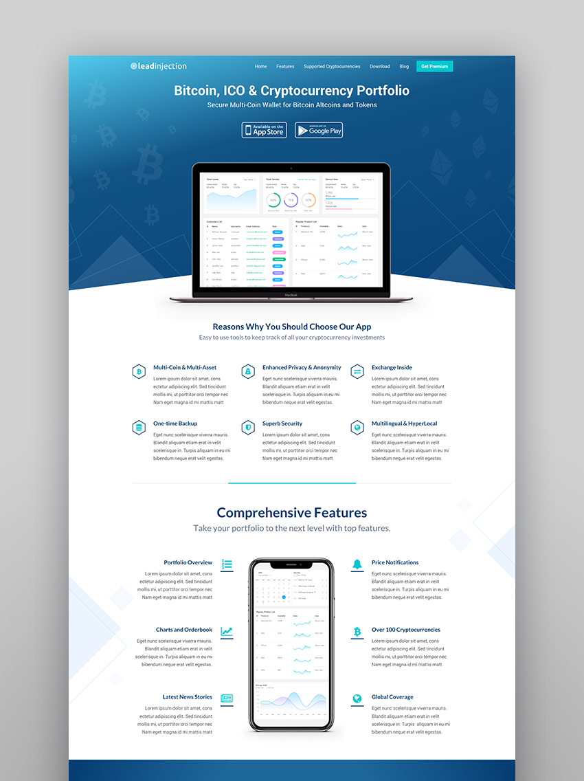 LeadInjection - WP Landing Page Template