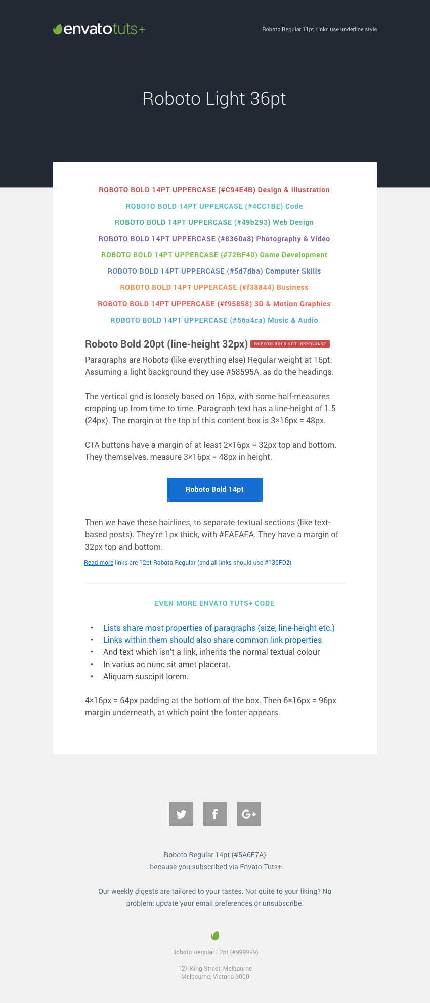 How We Did It Building The New Tuts Email Templates