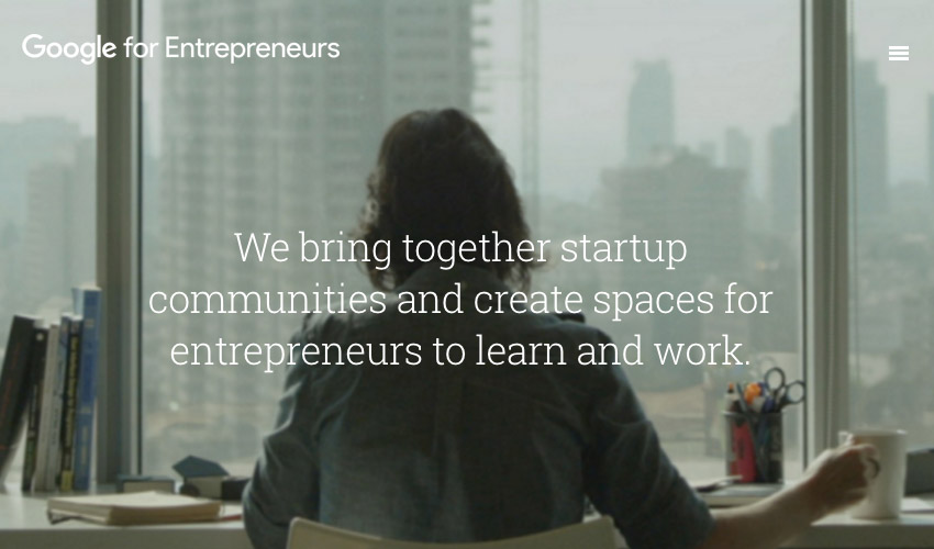 Google for Entrepreneurs initiative