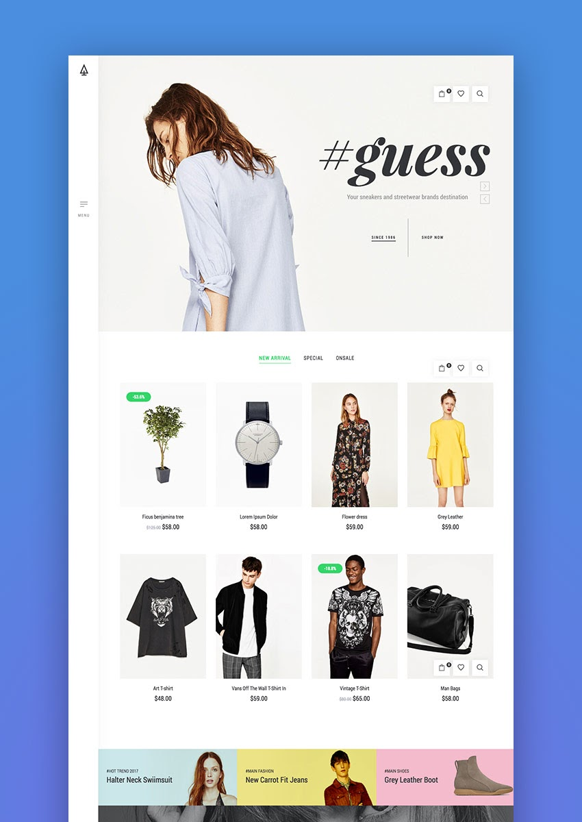15+ Best eCommerce Website Templates: Updated for 2018