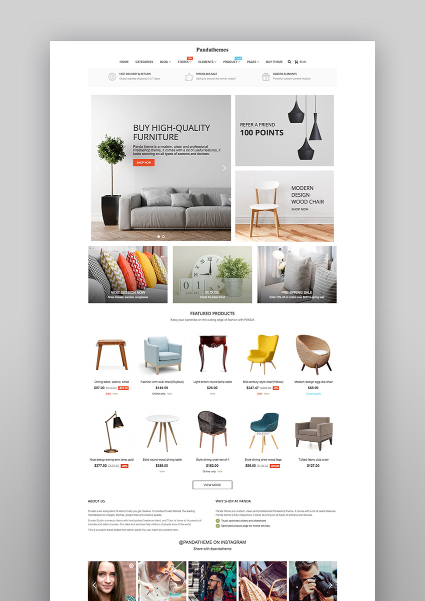 15 Best eCommerce Website Templates: Trending in 2017