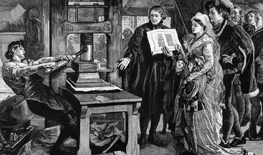 Technology has always changed society Take for example the printing press that undermined the rule of the Catholic Church