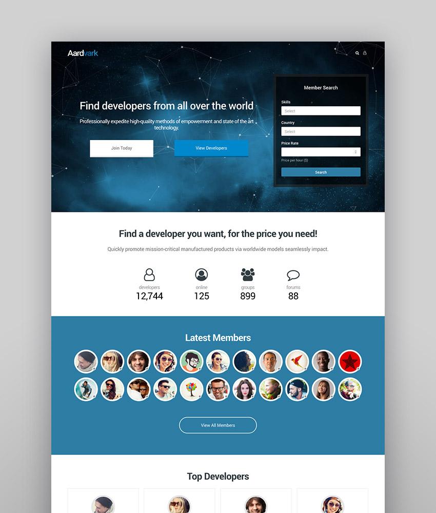 14 Best BuddyPress WordPress Themes: To Make Social & Community Sites