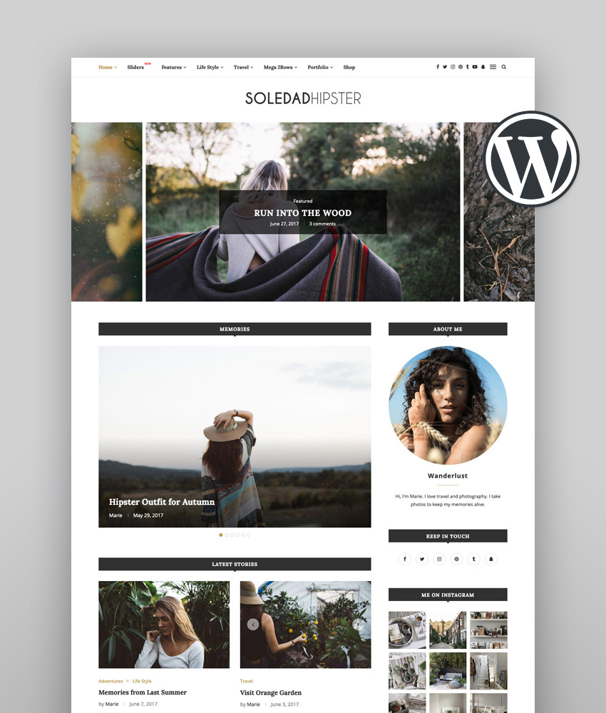 Soledad - Multi-Concept Blog Magazine WordPress Theme