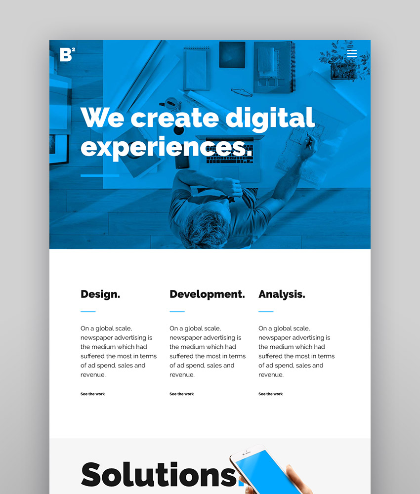 Bridge - Agency Theme With Animation Effects