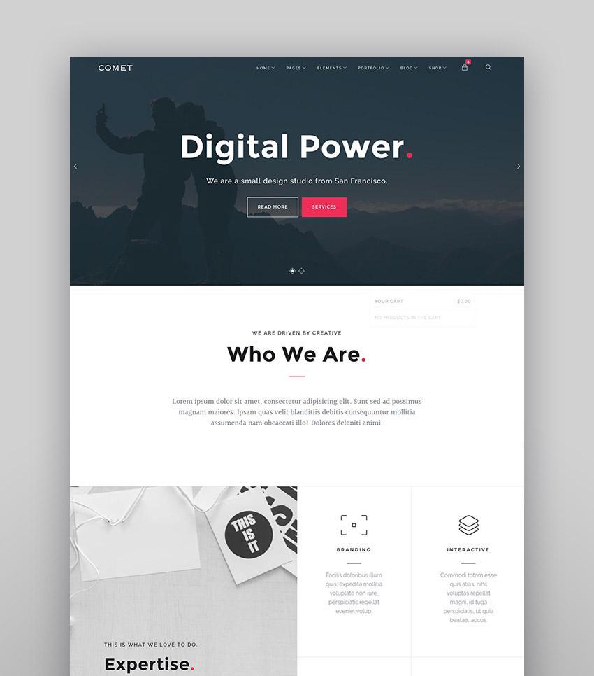 Comet - Responsive Agency WordPress Theme