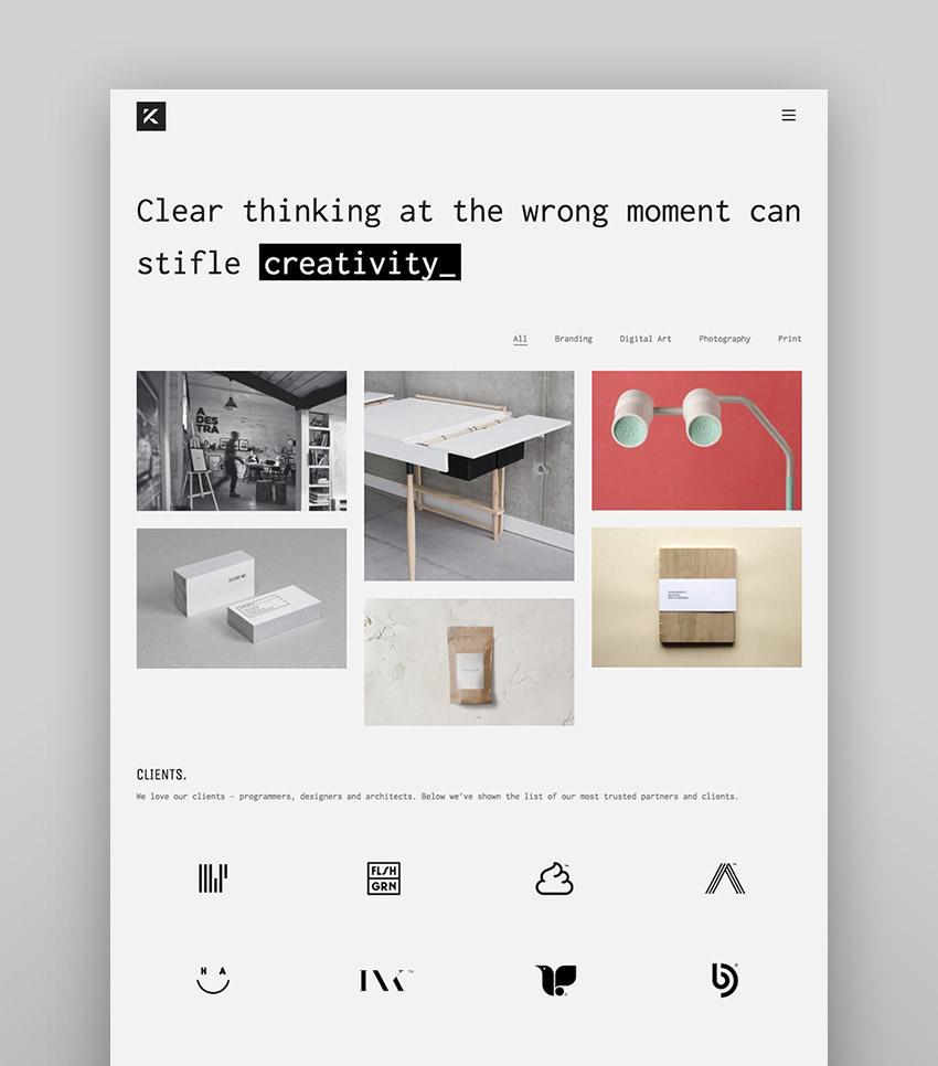 Kalium - Minimal and Responsive WordPress Theme