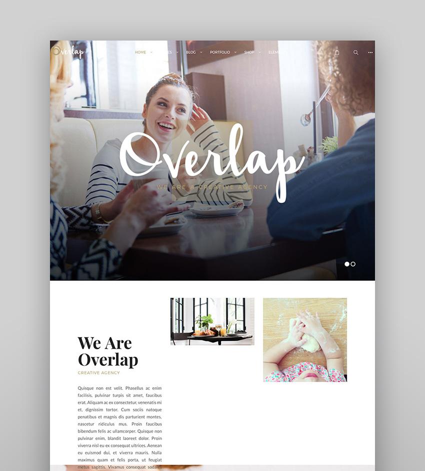 Overlap - High Performance Creative WP Agency Theme