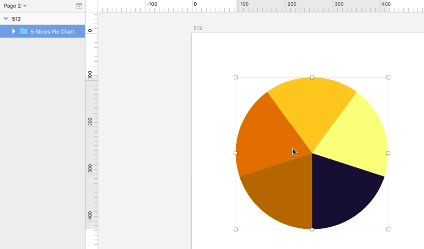 2 Quick Methods for Creating Pie Charts in Sketch
