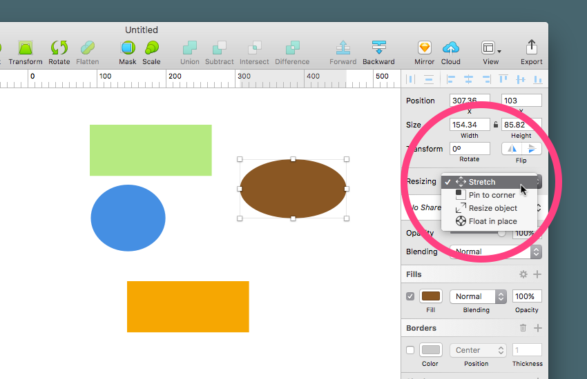 Sketch in 60 Seconds: Resizing Element Groups