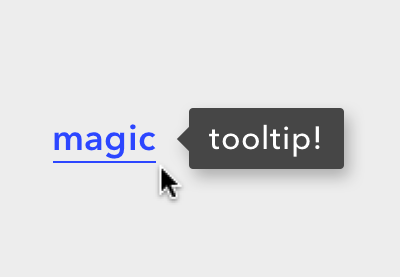 How to Make Magic, Animated Tooltips With CSS