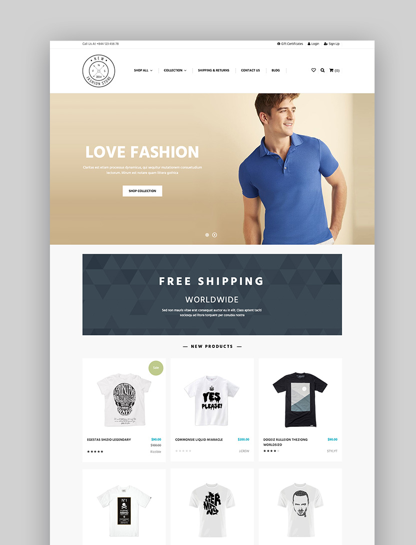 AP New Fashion - 2017 Fashion BigCommerce Template