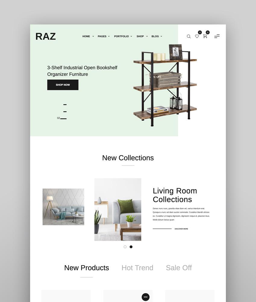 Raz - Clean Minimal WooCommerce Theme