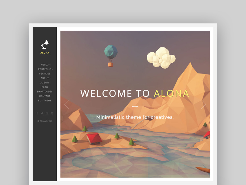 Alona - Tidy  Clean Portfolio