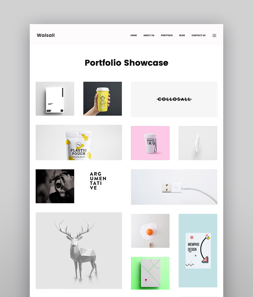 Walsall - Minimal Digital Agency WordPress Theme