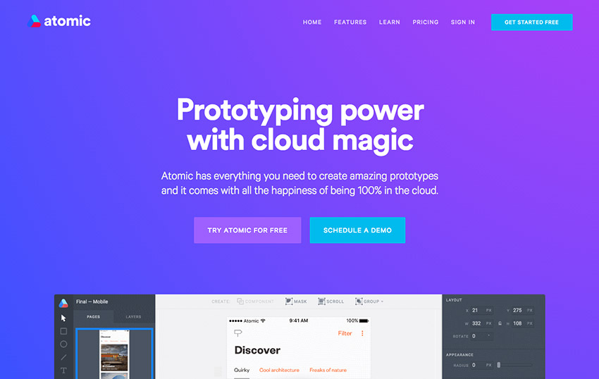 Learn How to Create a Prototype in Atomic